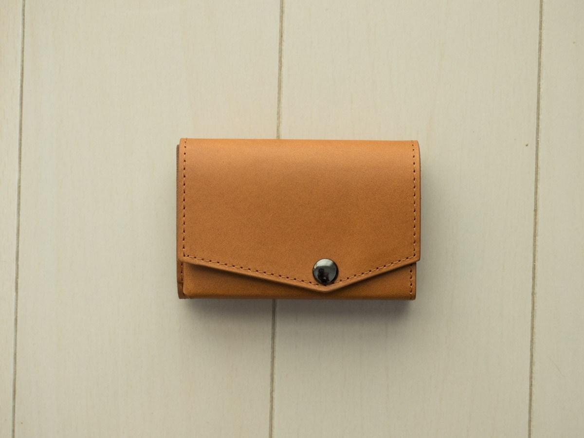 アブラサスの「小さい財布 ブッテーロレザー」