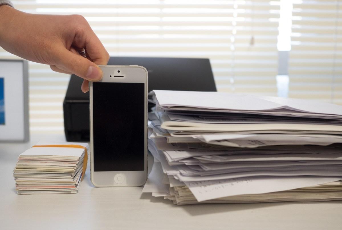 画像:スキャナー「ScanSnap ix500」は、書類の断捨離があっという間にできて便利です