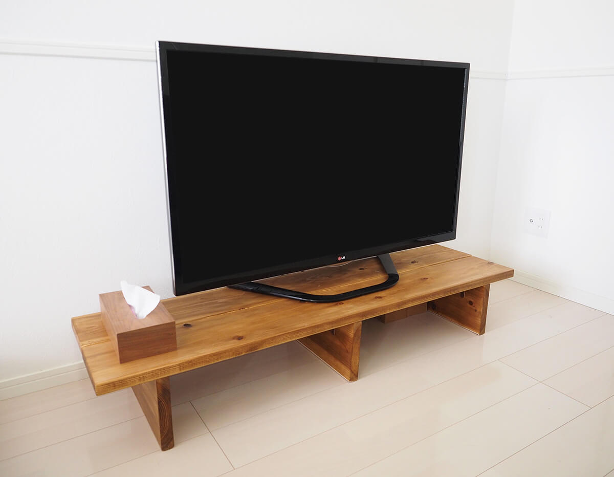テレビ台の簡単な作り方