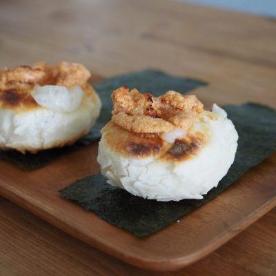 明太マヨ餅