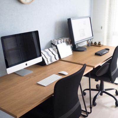 画像:無印良品の『折りたたみテーブル』がシンプル部屋の味方。ダイニングテーブルにも、デスクにも、フリースペースにも。
