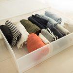 洋服の収納は「無印良品の収納ケース×こんまり流たたみ方」がベストでした