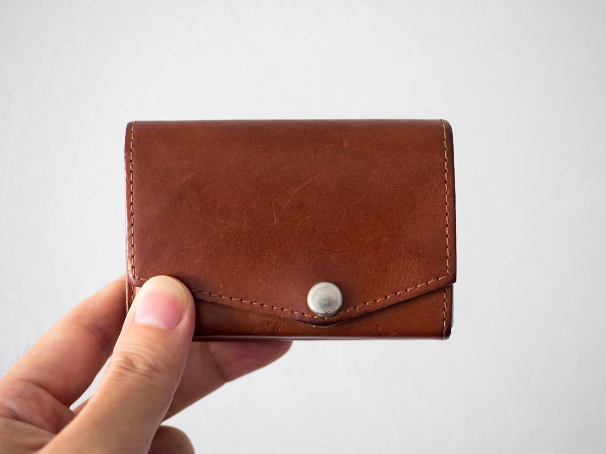 小さい財布2年経過