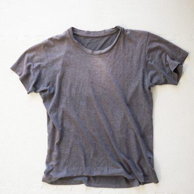 わが家の古いTシャツ