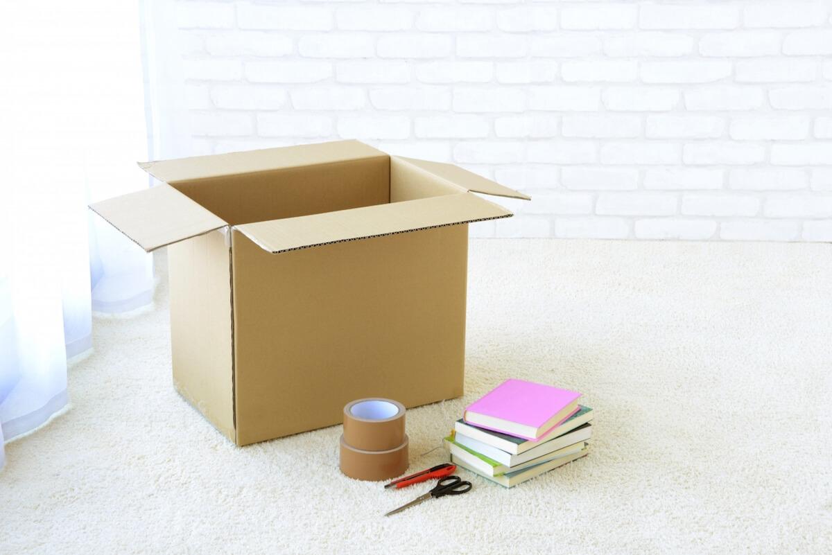 引っ越しは断捨離のチャンス