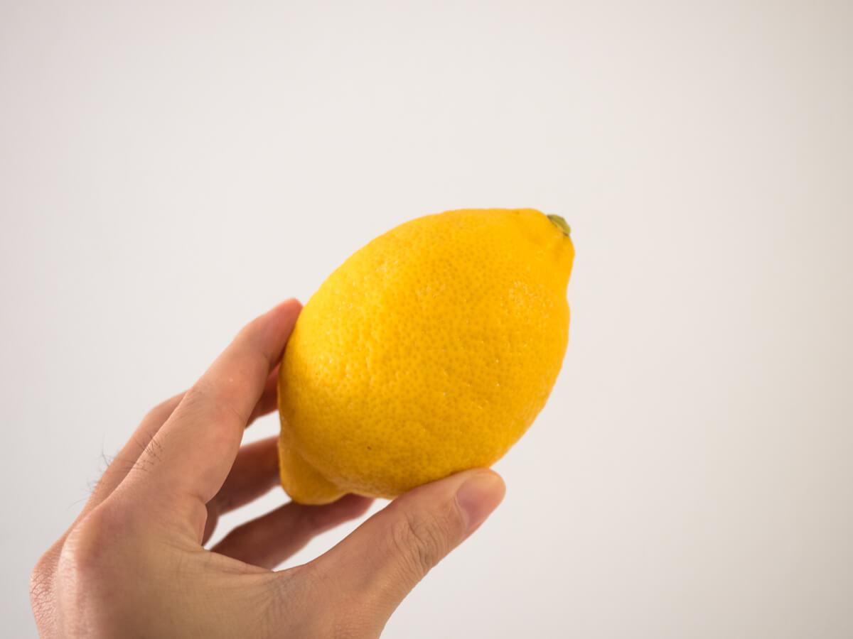 レモンで電子レンジ掃除