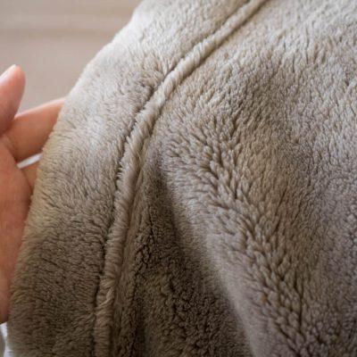 無印良品の毛布気持ちがいい