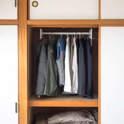 押入れの洋服収納