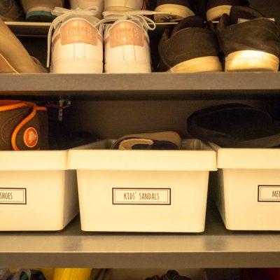 靴箱の収納術