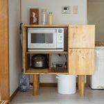 レンジラックの作りかた。パイン材とブライワックスで棚をDIYする方法